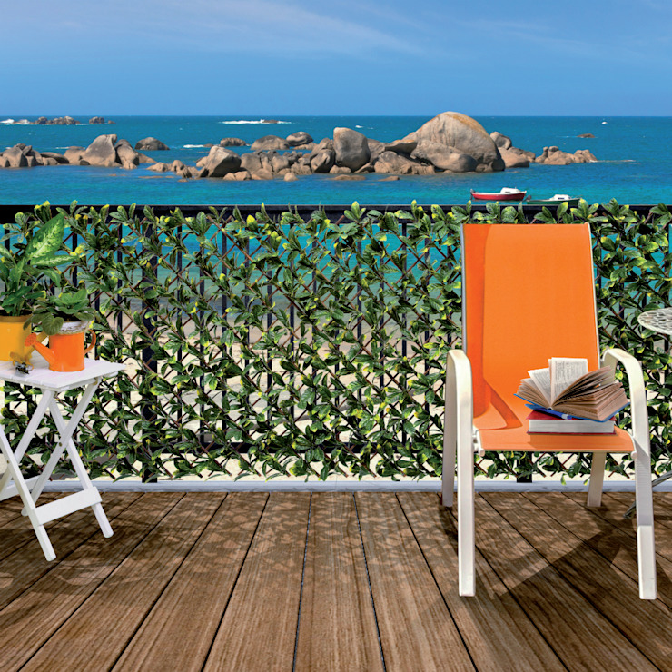 Nortene - Brise-vue Willgreen Archi'Tendances.fr Balcon, Veranda & TerrasseAccessoires & décorations Synthétique Vert