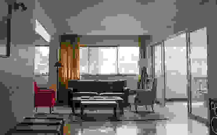 Remodelación Departamento Aguirre Livings de estilo moderno de BMAA Moderno