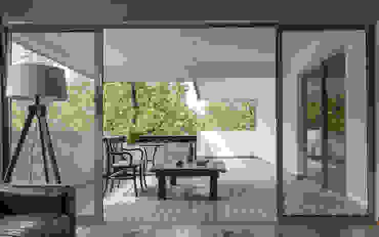 Remodelación Departamento Aguirre Balcones y terrazas modernos de BMAA Moderno