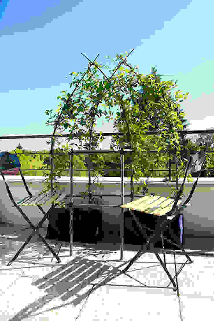 Lumaki, kit végétal - structure brise-vue avec table Archi'Tendances.fr Balcon, Veranda & TerrasseAccessoires & décorations
