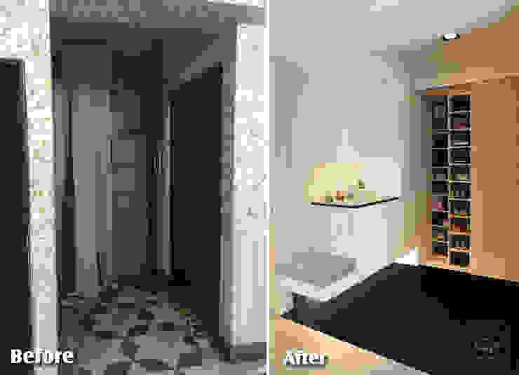 清晨的萊特-老屋翻新變身現代簡約居所: 現代  by 酒窩設計 Dimple Interior Design, 現代風