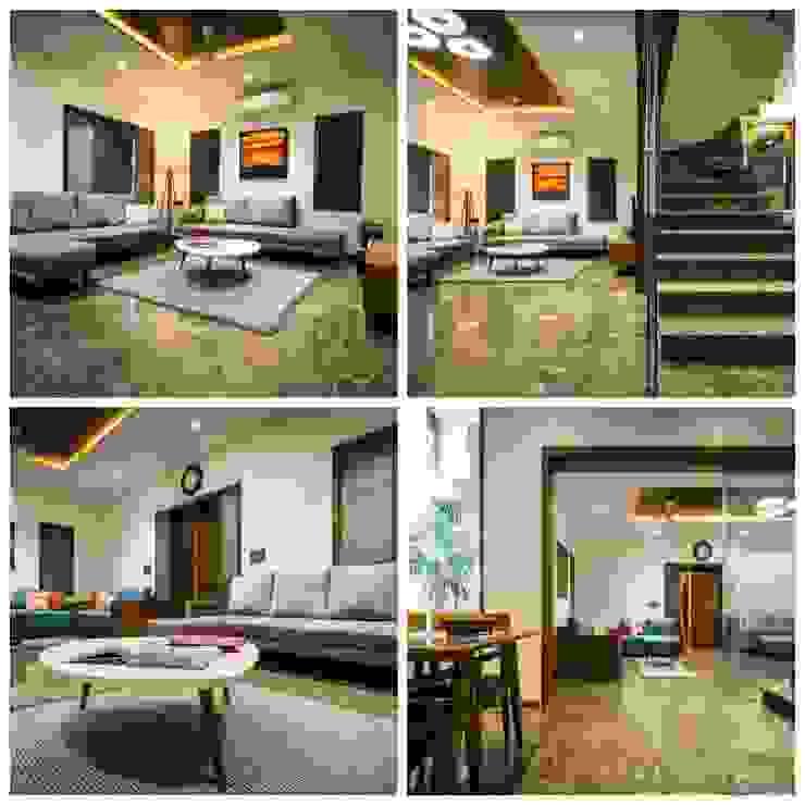 Archmaze Paredes y pisos modernos Vidrio