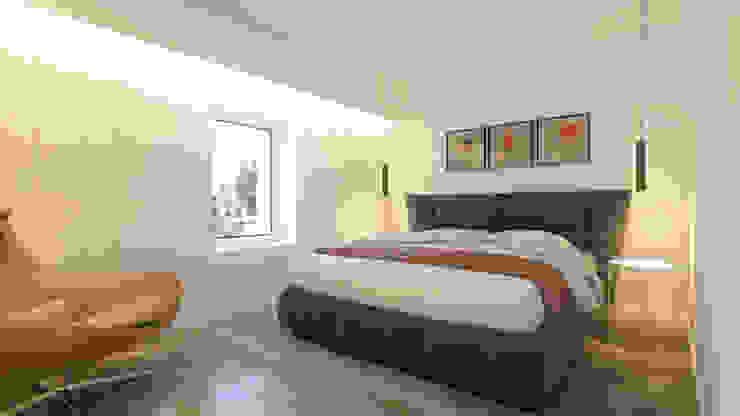 DV Arquitecto Modern style bedroom