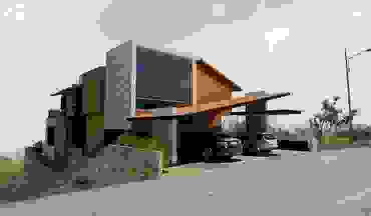 Fachada Principal Taller de Arquitectura Bioclimática +3d