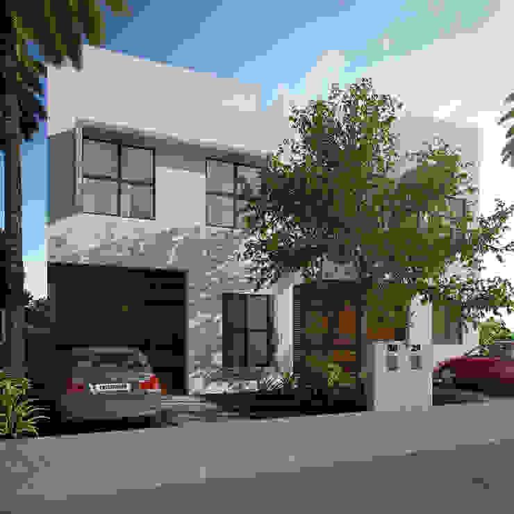 fachada principal de Daniel Cota Arquitectura | Despacho de arquitectos | Cancún Moderno
