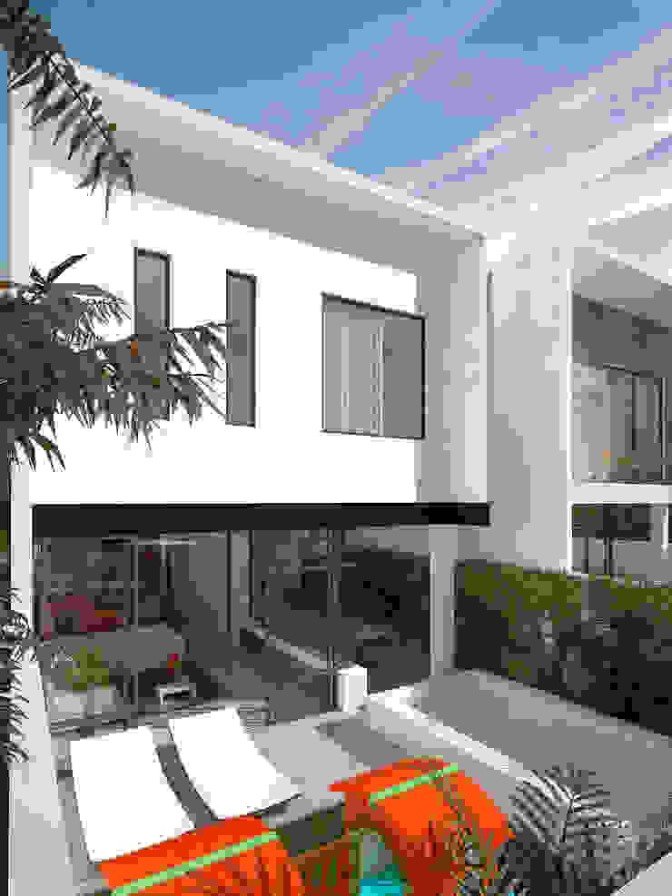 fachada posterior Daniel Cota Arquitectura | Despacho de arquitectos | Cancún
