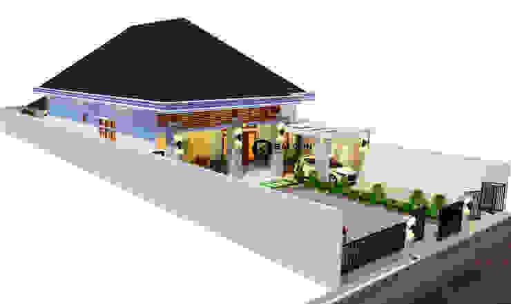 MEDICAL- HOUSE Rumah Praktek Dokter Oleh BALCON ARCHITECTS