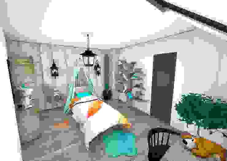 Chambre enfant Chambre d'enfant moderne par Crhome Design Moderne