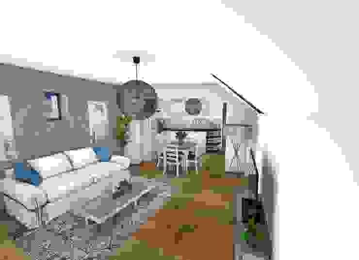 Salon Salon moderne par Crhome Design Moderne