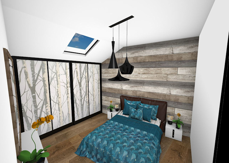 Modern style bedroom by Crhome Design Modern