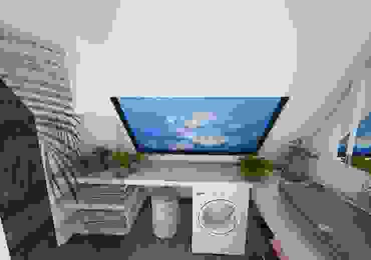 Salle de bain Salle de bain moderne par Crhome Design Moderne