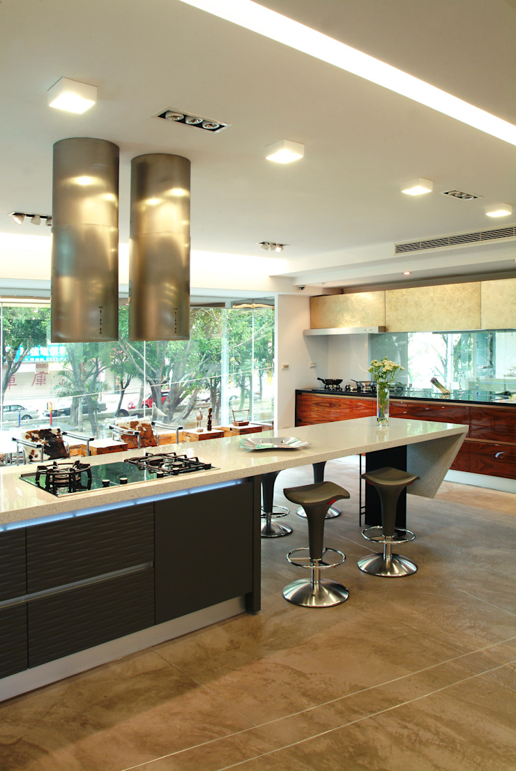modern  by 黃耀德建築師事務所  Adermark Design Studio, Modern