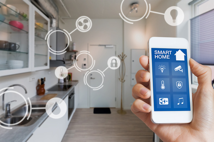 Smart Home System Design de Smart Homes Company Moderno