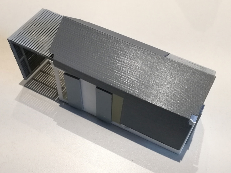 IMPALA 3D PRINTED CONTAINER by A4AC Architects