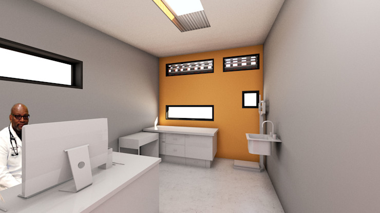 CONSULTATION ROOM by A4AC Architects Industrial