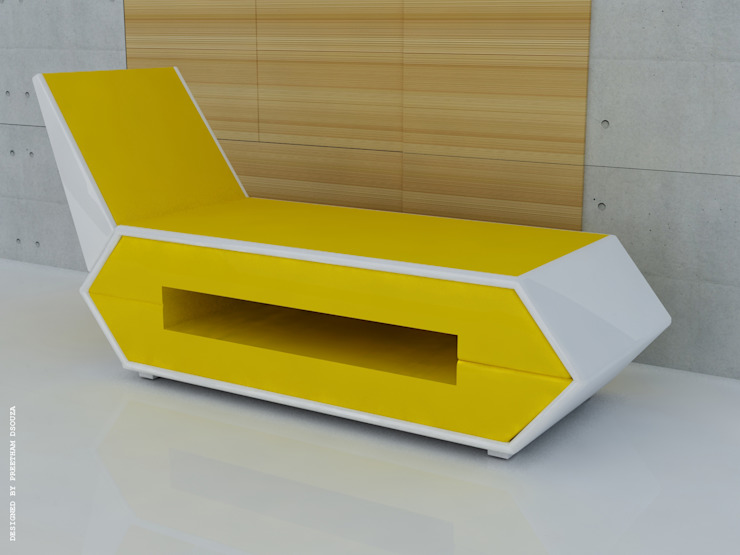Couch with storage: modern  by Preetham  Interior Designer,Modern