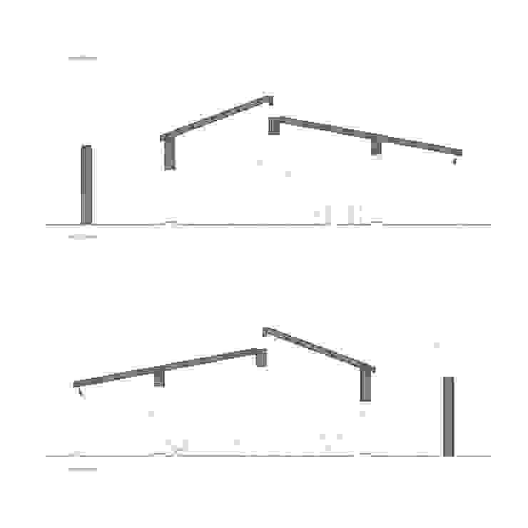 Planos de proyecto - secciones Francisco Pomares Arquitecto / Architect Casas de estilo rural