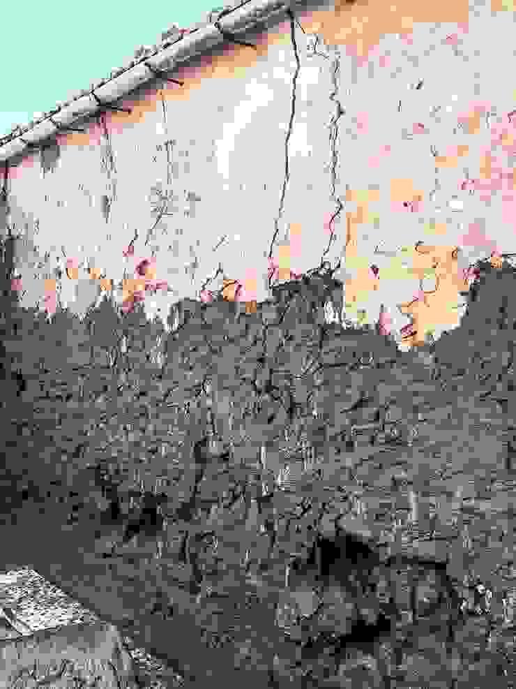 Proceso de obra - consolidación de muros 1 Francisco Pomares Arquitecto / Architect Casas de estilo rural