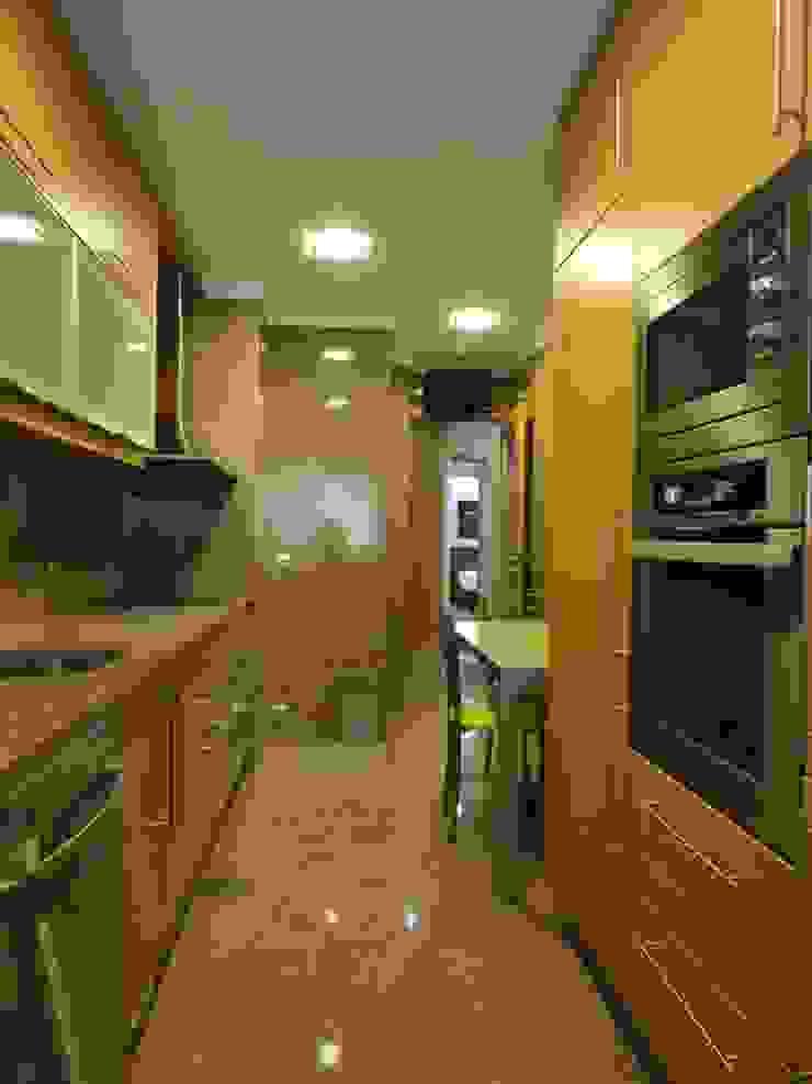 Remodelação de apartamento - Cozinha por PROJETARQ Moderno