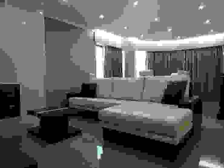 Remodelação de apartamento - Sala de estar Salas de estar modernas por PROJETARQ Moderno