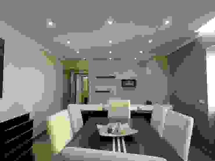 Remodelação de apartamento - Sala de jantar Salas de jantar modernas por PROJETARQ Moderno