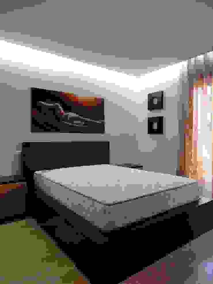 Remodelação de apartamento - Quarto Quartos modernos por PROJETARQ Moderno