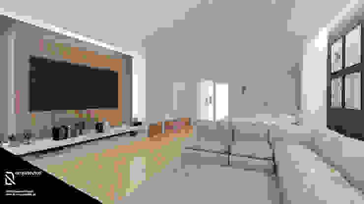 Salas de estilo minimalista de DR Arquitectos Minimalista
