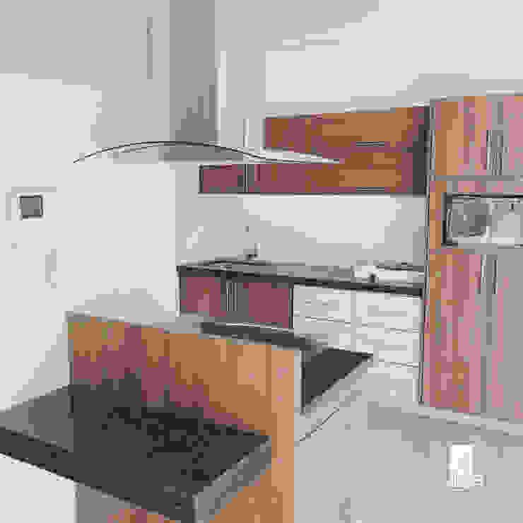 JMB Arquitectos Dapur Modern