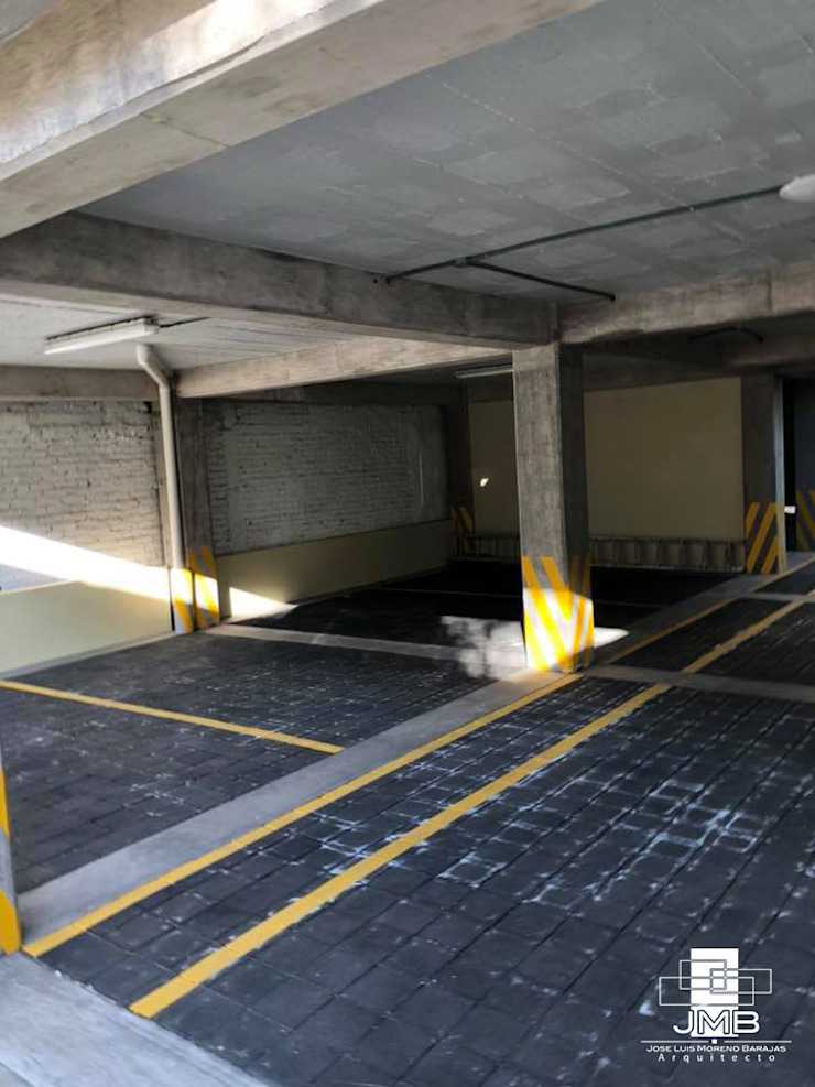 JMB Arquitectos Modern Garage and Shed