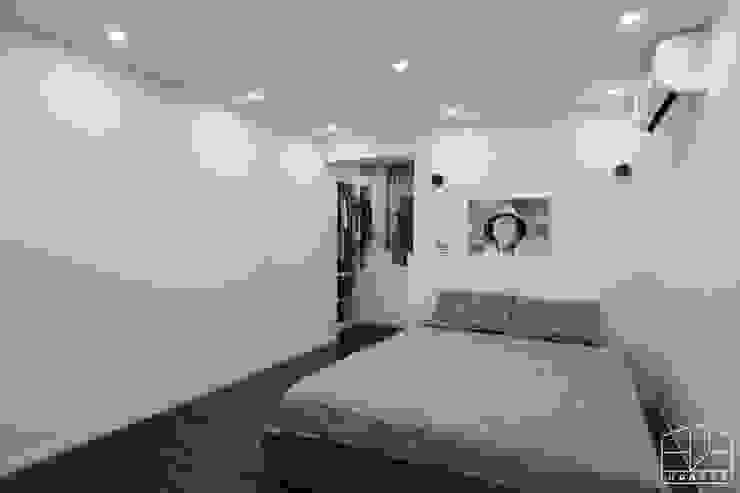 Skandinavische Schlafzimmer von 홍예디자인 Skandinavisch