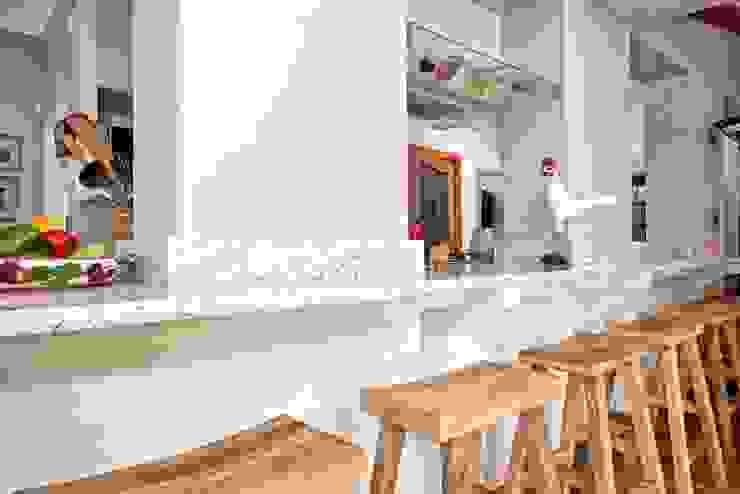Kitchen counter top Oksijen Built-in kitchens MDF White