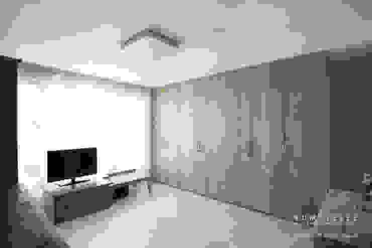 [30평]단 하나뿐인 나만의 공간 홈 인테리어 양재동파크사이드의 풀스토리 by 범블비디자인 30평대인테리어 에클레틱 미디어 룸 by 범블비디자인 에클레틱 (Eclectic)