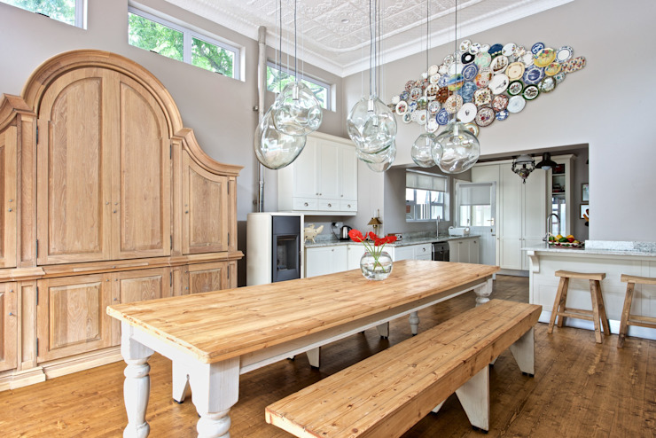Dining area Oksijen Eclectic style dining room
