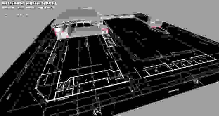 MyM Bares y clubs de estilo moderno de Arquitecto Manuel Daniel Vilte Moderno