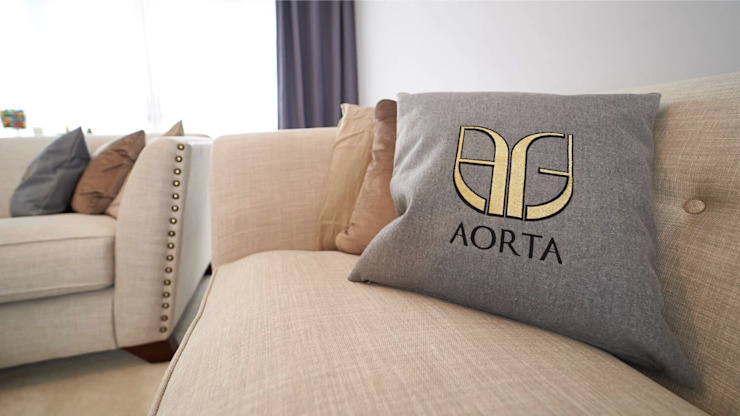 The Modern Living Room by Aorta the heart of art Сучасний