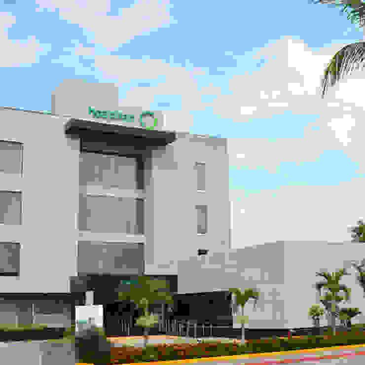 Hôpitaux modernes par Acor México Moderne