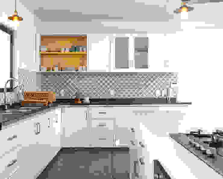 CUBO ROJO Arquitectura 現代廚房設計點子、靈感&圖片