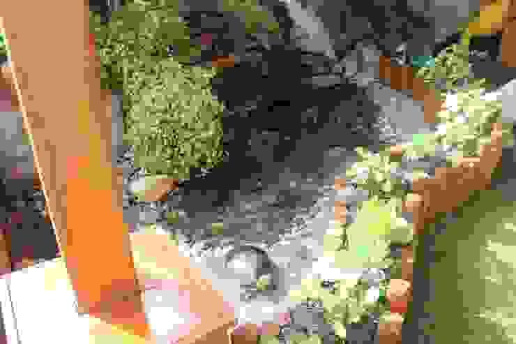 Ambient Natura Garden Pond Stone Orange