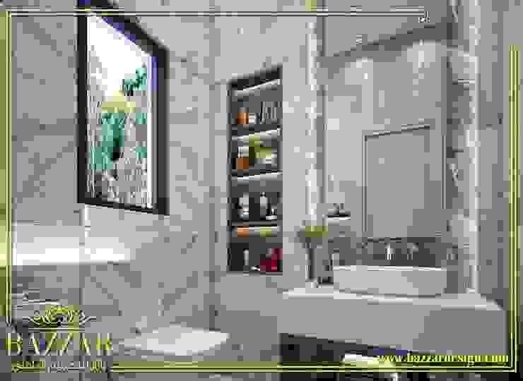 تصميم حمامات by Bazzar Design