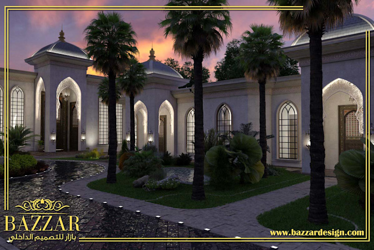 حدائق فلل by Bazzar Design