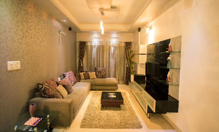 Interior:  Living room by Dream Touch ,Modern