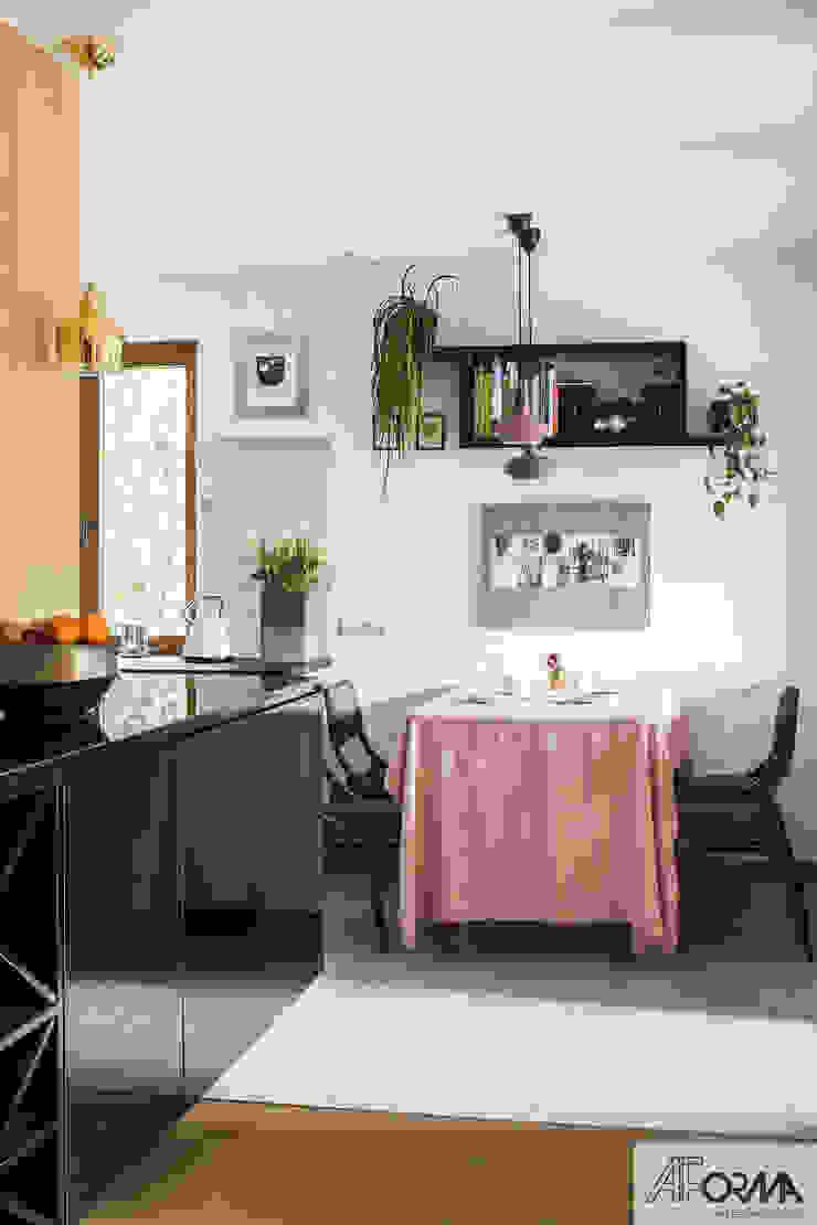 AFormA Architektura wnętrz Anna Fodemska Cocinas de estilo moderno