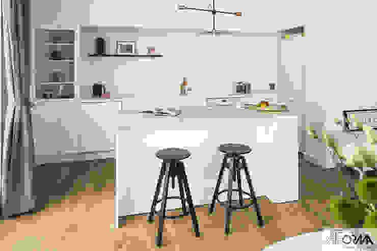 AFormA Architektura wnętrz Anna Fodemska Scandinavian style kitchen
