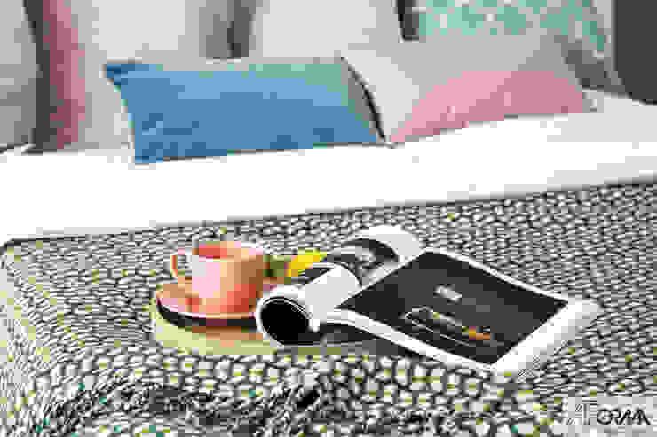 AFormA Architektura wnętrz Anna Fodemska Modern style bedroom