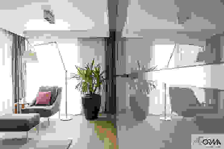 AFormA Architektura wnętrz Anna Fodemska Dormitorios de estilo moderno