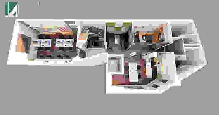 NỘI THẤT VĂN PHÒNG 383 bởi Kiến trúc Việt Xanh