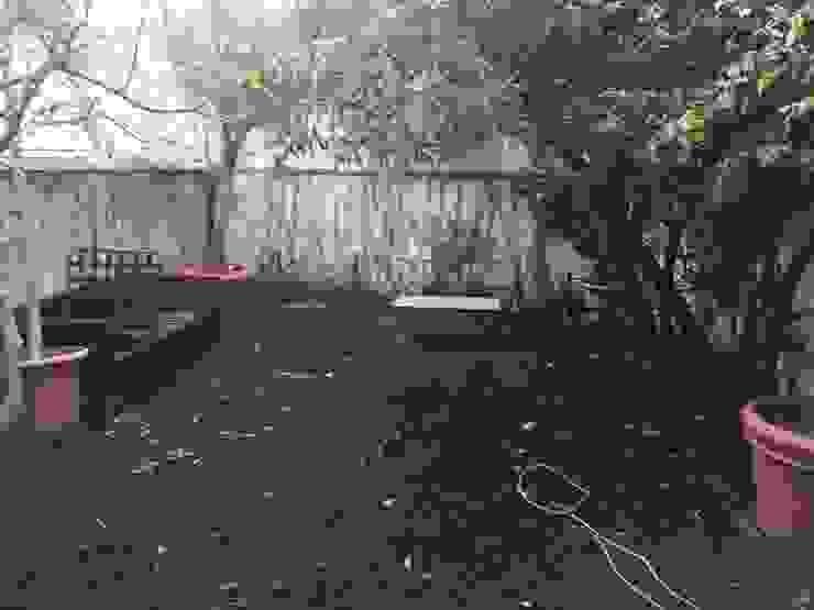 Jardín antes de CASA IMAGEN
