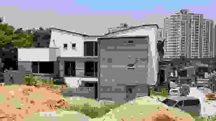 청주시 단독주택 모던스타일 주택 by 건축사사무소 CSU 모던