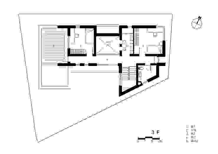3층 평면도: 건축사사무소  CSU의 컨트리 ,컨트리
