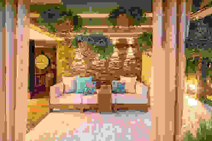 Isabella Magalhães Arquitetura & Interiores Rock Garden Stone Blue